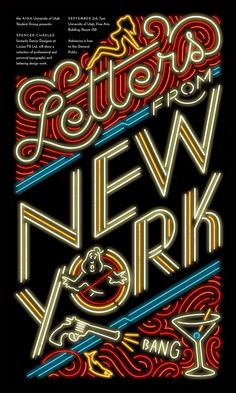Lecture: Letters from New York