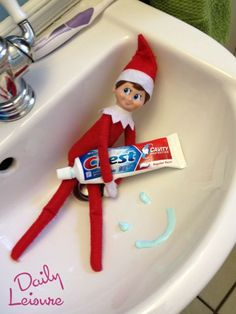 A Month of Elf on the Shelf Ideas