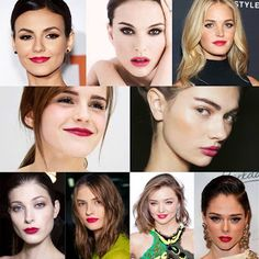 Ro&Ro Beauty Blog: Beauty trend: Raspberry Lips