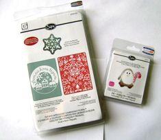 Lot of 4 Brand New Penguin Die + Set of 2 embossing Folder CLEARANCE - BIG SALE  #Cuttlebug