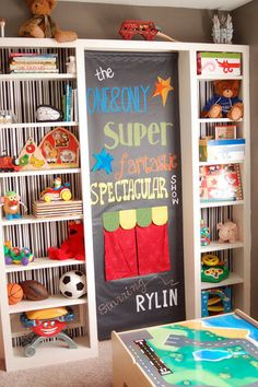 super fun playroom