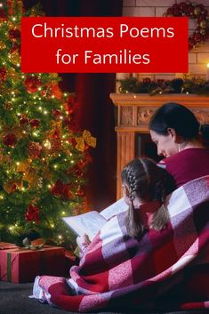 Make Christmas special by starting a new holiday tradition and read Christmas poems to your kids. Ideas for how to incorporate poetry into your Christmas traditions and festivities, as well as the best Christmas poems and poetry books. Best Christmas Books, Christmas Poems, Childrens Christmas, Family Christmas, Poetry Books For Kids, Best Children Books, Childrens Books, Christmas Traditions Kids, Family Traditions