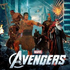 The Book of Mormon Avengers