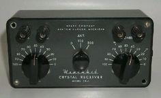 Heathkit Crystal Radio