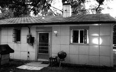 Lustron porcelain enameled steel house