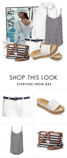"""""""Marine day"""" by tasha1973 ❤ liked on Polyvore featuring Superdry, A.L.C. and Chaps"""