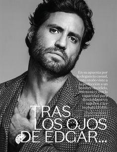Nuevas imágenes del actor venezolano Edgar Ramirez en nueva edición de la revista Vogue Hombre Autumn-Winter 2015 #MagazineVirtual #EdgarRamirez