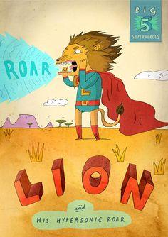 Big Five: Lion