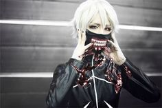 s jun(S-JUN) Ken Kaneki Cosplay Photo