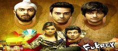 The title song Fuk Fuk Fukrey of upcoming Bollywood movie Fukrey is released on You Tube. Fukrey which include Pulkit Samrat, Varun Sharma, Manjot Singh, Ali Fazal. Hindi Movie Song, Movie Songs, Hd Movies, Movies Free, Films, Latest Bollywood Movies, Bollywood Songs, Bollywood Actors, Bollywood News