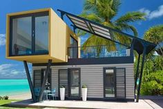 Plans To Design And Build A Container Home - Container House - . Who Else Wants Simple Step-By-Step Plans To Design And Build A Container Home From Scratch? - Who Else Wants Simple Step-By-Step Plans To Design And Build A Container Home From Scratch? Building A Container Home, Storage Container Homes, Container House Plans, Cargo Container Homes, Container Cabin, Shipping Container Home Designs, Shipping Containers, Shipping Container Office, Shipping Container Buildings