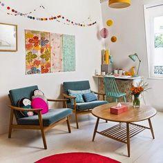 Casinha colorida: Era uma vez uma casinha feita com amor