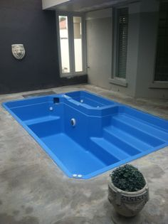 Spa, after Saphire blue Refurbishment