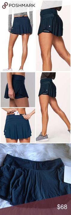 "JUSTIN✔️ Lululemon Quick Pace Skirt NWT Brand new ✔️ NWT Quick Pace Skirt by Lululemon size 10 3.5"" inseam 🚫NO TRADES🚫 lululemon athletica Skirts"