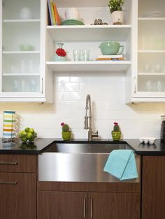 Kitchen Tile Backsplash Ideas: Pictures & Tips From HGTV : Rooms : Home & Garden Television photo #52