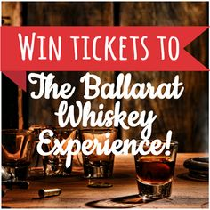 NEW COMPETITION! Win tickets for two people to events at the upcoming Ballarat Whiskey Experience!  Enter here: https://secure.pagemodo.com/m/IDDNBX  And find out more about the new event here: http://visitballarat.com.au/events/food-wine/ballarat-whiskey-experience.aspx