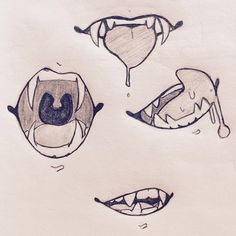 Drawing Tutorial Face Mouths 51 New Ideas Mouth Drawing, Drawing Base, Manga Drawing, Drawing Sketches, Cool Drawings, Drawing Tips, Arte Furry, Furry Art, Poses References