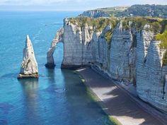 cliffs at Etrerat France