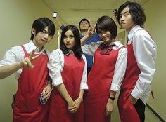 """KenTao""  Kento Yamazaki, Tao Tsuchiya. J drama ""Kuro no onna kyoushi"", 2012 [Eng. sub] http://www.gooddrama.net/japanese-drama/kuro-no-onna-kyoushi-episode-1"