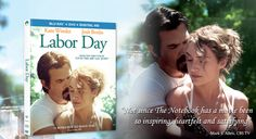 """#LaborDayMovie ∙ """" Not since The Notebook has a movie been so satisfying."""" - Mark S. Allen, CBS TV ∙ Preview: http://youtu.be/eDAm-qRpkHI AVAILABLE NOW  ∙ Buy Blu-Ray: http://j.mp/BuyLaborDay  & Digital HD: http://j.mp/iTunesLaborDayFacebook  #MomsNightOut #MovieNight Note: This board is a challenge to win a prize from #Paramount and #Influenster"""