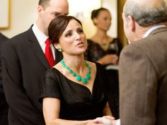 I can't wait for the DVD's to come out for Julia Louis-Dreyfus' new HBO comedy Veep, where she plays the first female Vice President.  Love her!