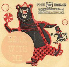 vintage circus bear - Google Search