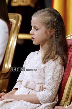 la proclamación del Rey de España. Leonor, la hija mayor de los reyes, será desde ahora la princesa de Asturias y en un futuro sucederá a su padre en el trono.