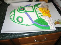 Buzz Lightyear Rocket Cake by ChrisCakes, via Flickr