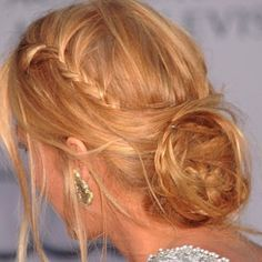 Blake Lively blonde hair - Hairstyles - Plaits
