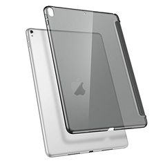 ESR iPad Pro 10.5 Case, Clear Hard Case [Perfect Match with Smart Keyboard] Slim Fit Back Shell Cover for iPad Pro 10.5 Inch (Charcoal Gray) #iPad #Case, #Clear #Hard #Case #[Perfect #Match #with #Smart #Keyboard] #Slim #Back #Shell #Cover #Inch #(Charcoal #Gray)