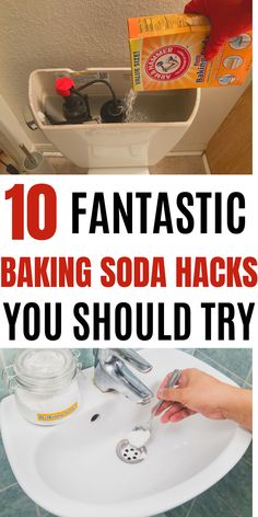 This will show you some awesome baking soda cleaning tricks. #baking soda #cleaning hacks Diy Home Cleaning, Homemade Cleaning Products, Household Cleaning Tips, Household Cleaners, Cleaning Recipes, House Cleaning Tips, Natural Cleaning Products, Spring Cleaning, Cleaning Hacks