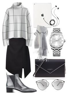 """""""business minimalism"""" by yourselffashion ❤ liked on Polyvore featuring Yves Saint Laurent, Chicwish, Acne Studios, Balenciaga, Calvin Klein, Christian Dior and Molami"""