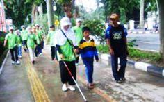 Harian Metropolitan – PKL Rampas Hak Penyandang Cacat