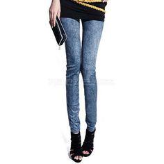 New-Women-Sexy-Demin-Jeans-Look-leggings-Jeggings-Skiny-Pants