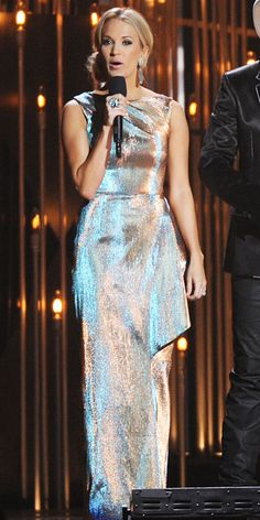 Carrie Underwood love the dress!