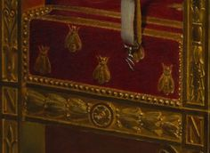 Detail of Napoleon's Desk with Bees