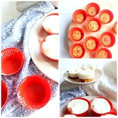 pienet sitruunaiset juustokakut (vhh/keto)   tuulanneli Muffin, Keto, Breakfast, Desserts, Food, Morning Coffee, Tailgate Desserts, Deserts, Essen
