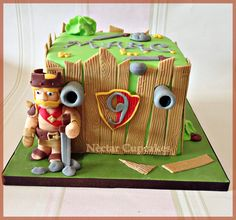 Sweet clash of clans cake! Birthday Cakes For Men, Cakes For Boys, Man Birthday, Bolo Clash Royale, Video Game Cakes, Video Games, Fondant, Clash Of Clans Hack, Cake Art