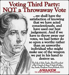 Voting third party not a throwaway vote Prophet Quotes, Jesus Christ Quotes, Gospel Quotes, Mormon Quotes, Lds Quotes, Religious Quotes, Great Quotes, Inspirational Quotes, Spiritual Thoughts