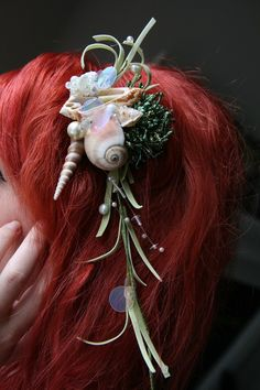 wow! this would be great for an ariel costume!!! :D