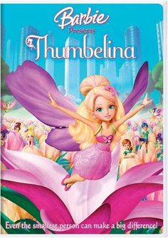 In this cute and colorful rendition of a classic fairy tale, Barbie tells the story of Thumbelina, an itsy bitsy girl who lives amongst the Twillerbees (tiny, magical creatures) in a field of wildflow