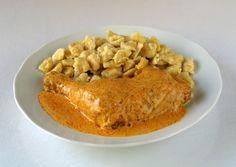 Hungarian Food - Chicken Paprikash (Csírkepaprikás)