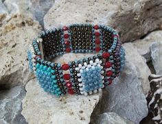 RAW bracelet. She'd made rings like this too.