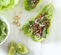 A Thai-inspired dish which is quick, simple, cheap and low fat – yet still feels special and is full of flavour. A great pre-dinner nibble. From BBC Good Food.