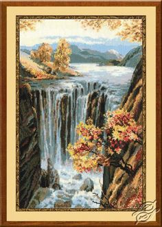 Waterfall - Cross Stitch Kits by RIOLIS - 974