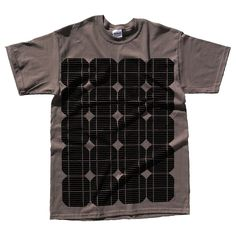 solar power on t-shirt to charge cell phone