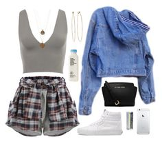 A fashion look from March 2015 featuring guess jackets, short shorts and high-top sneakers. Browse and shop related looks. Grunge Outfits, Edgy Outfits, Urban Outfits, Outfits For Teens, Fashion Outfits, Cute Comfy Outfits, Chill Outfits, Cute Summer Outfits, Dope Fashion