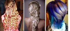 Coafuri de vara pentru par lung, cocuri, impletituri, coafuri lejere Dreadlocks, Hair Styles, Beauty, Hair Plait Styles, Hair Makeup, Hairdos, Haircut Styles, Dreads, Hair Cuts