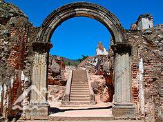 Ruins La Recolección, Antigua Guatemala.