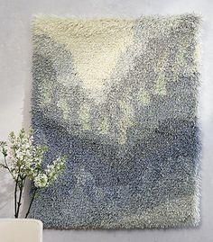ryijyt - Google-haku Rya Rug, Textiles, Woven Wall Hanging, Floor Rugs, Textile Art, Weaving, Carpet, Tapestry, Wall Hangings